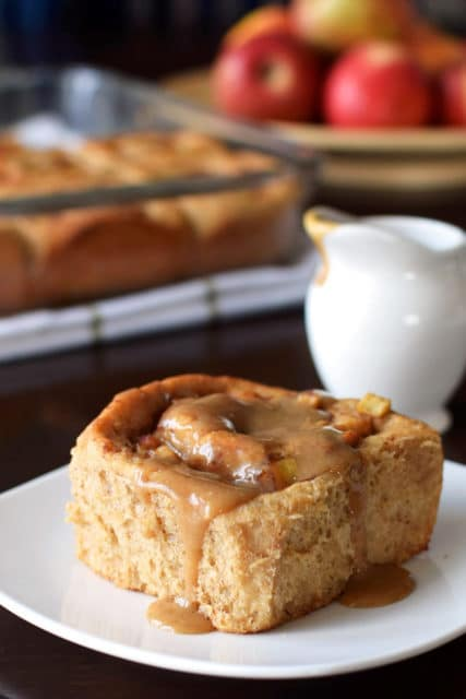 Healthy Apple Cinnamon Rolls