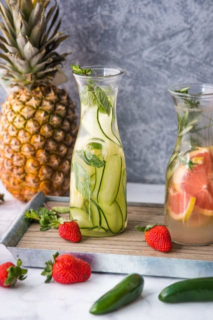 Infused coconut water recipes