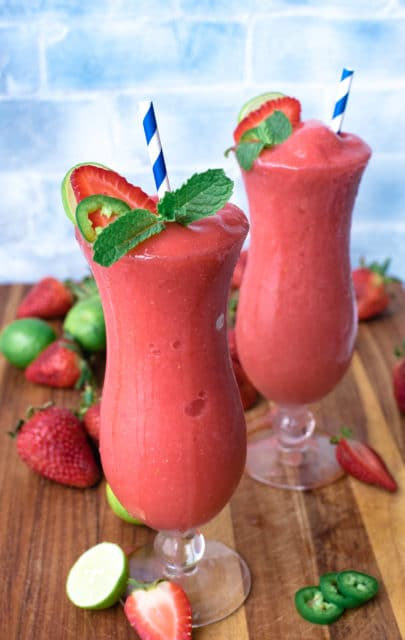 strawberry jalapeno lime daiquiri recipe