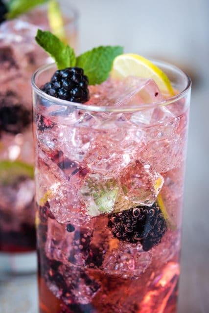 blackberry mint mojito recipe