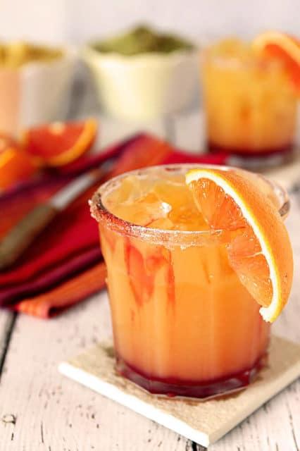 Tequila Sunrise margaritas cocktails