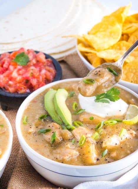 Easy Authentic Chile Verde Pork recipe