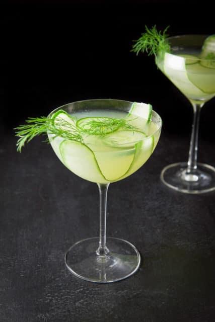 Cucumber Dill Martini