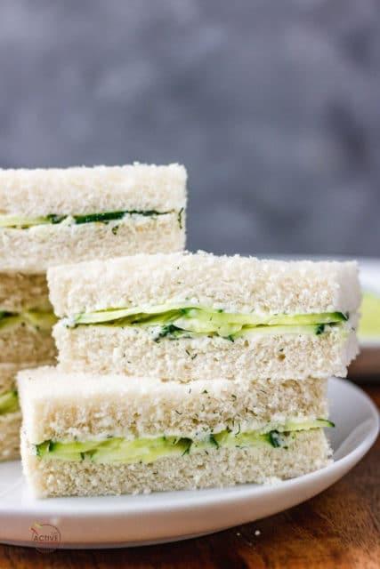 Easy Cucumber Sandwiches