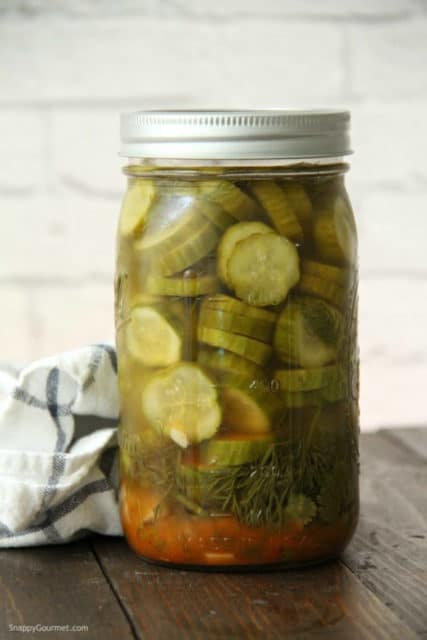 Mexican Refrigerator Pickles