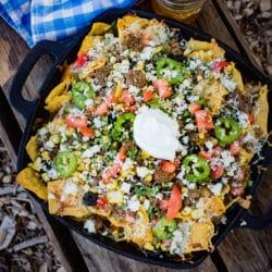 camping nachos