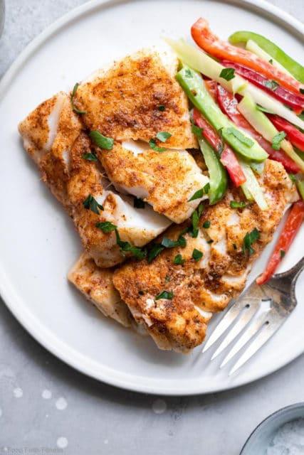 Cajun Grilled Cod