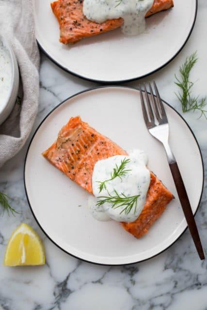 air fryer salmon Recipe