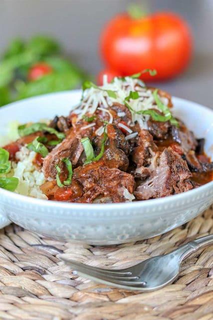 Italian Crock Pot Beef Roast
