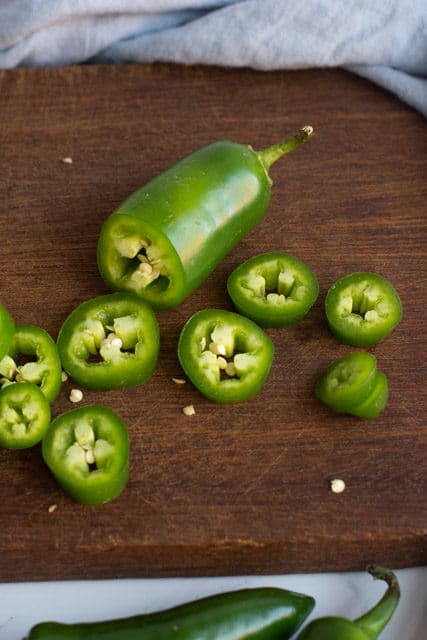 Easy homemade crunchy and sweet refrigerator pickled jalapeños recipe for your enjoyment.