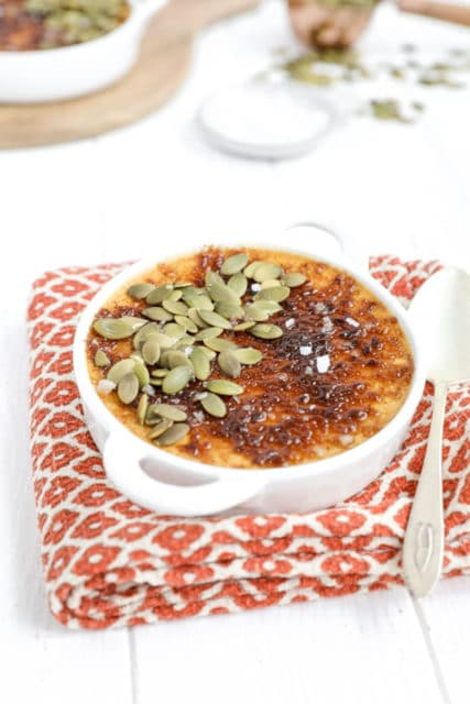Salted Pumpkin Creme Brulee Recipe