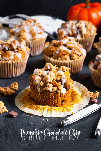 Chocolate Chip Streusel Muffins Recipe