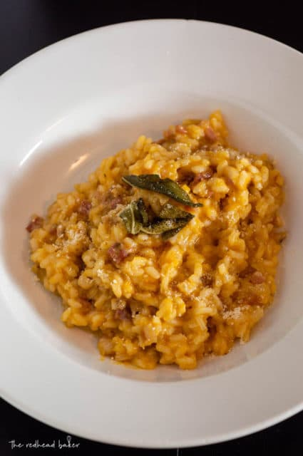 Pumpkin Pancetta Risotto Recipe