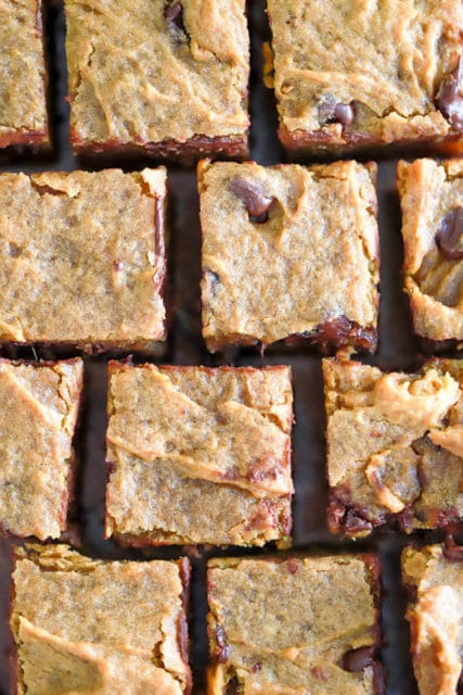 Brown Butter Pumpkin Blondies Recipe