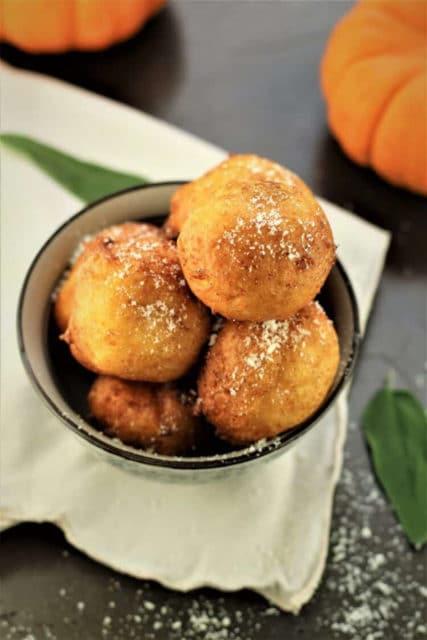 Savory Pumpkin Ricotta Fritters Recipe