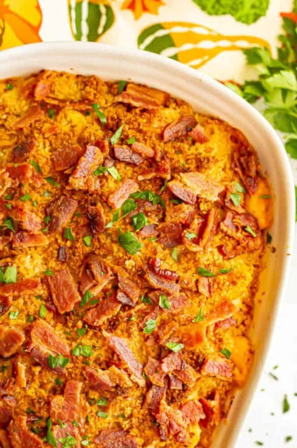 Pumpkin Mac and Cheese with Bacon Recipe