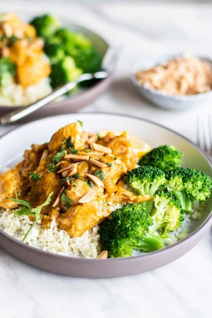 Crockpot Moroccan Pumpkin Chicken