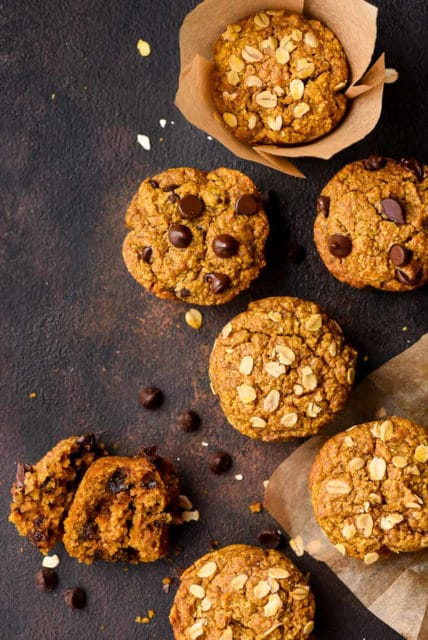 Healthy Blender Pumpkin Muffins Recipe