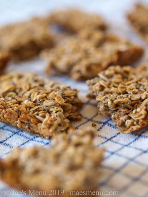 Pumpkin Spice Granola Bars Recipe