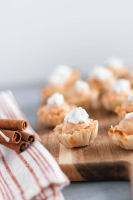 Mini Pumpkin Cheesecake Bites Recipe
