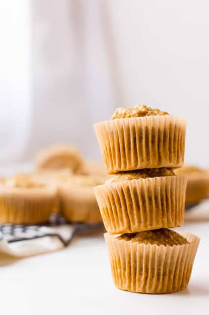 Healthy Carrot Pumpkin Muffins