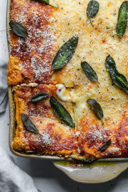 Pumpkin Kale Lasagna Recipe