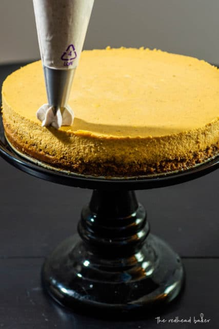Pumpkin Gingersnap Cheesecake Recipe