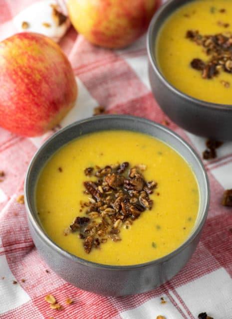 Butternut Squash Apple Soup Recipe