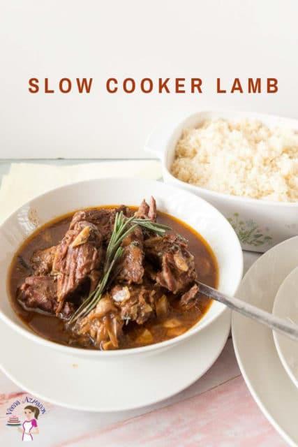 Slow Cooker Lamb Recipe