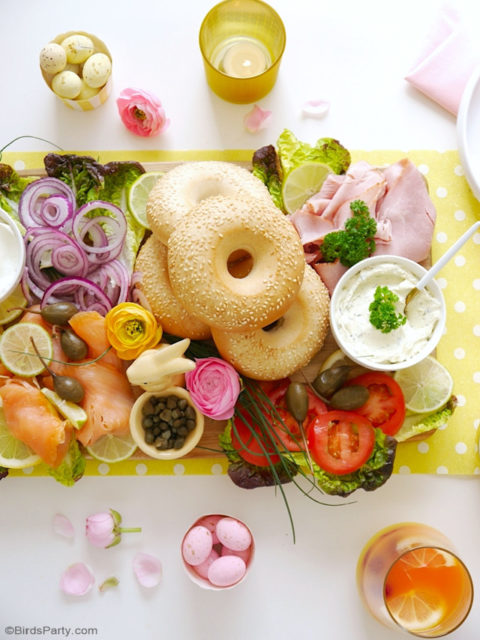 Bagel Brunch Board