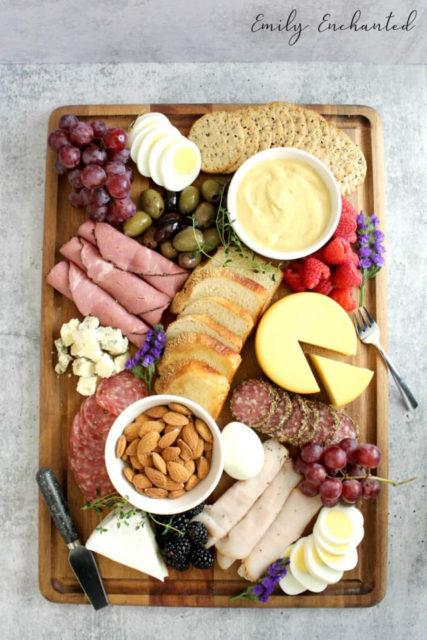 Healthy Charcuterie Board