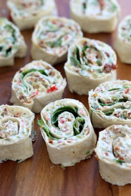 Vegan Tortilla Rollups
