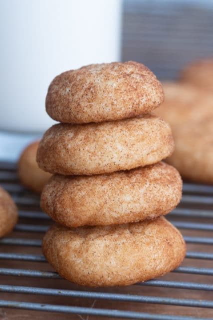 Easy Chewy Snickerdoodle Recipe