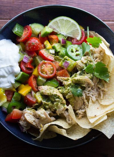 Slow-Cooker-Beer-Chicken-Taco-Salad-with-Cilantro-Vinaigrette-2