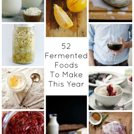 52 fermented foods