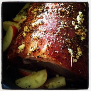 Creole Ginger Apple Pork Loin