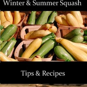 How to Can Squash: Winter and Summer