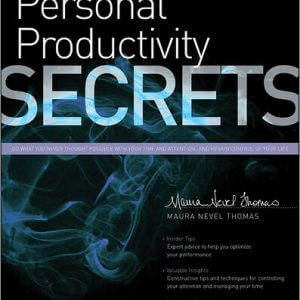Personal Productivity Secrets Review and Giveaway
