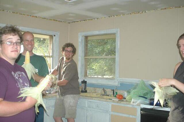 Entertaining While Remodeling