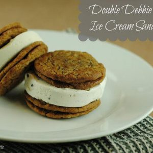 Double Debbie Decker Ice Cream Sandwiches