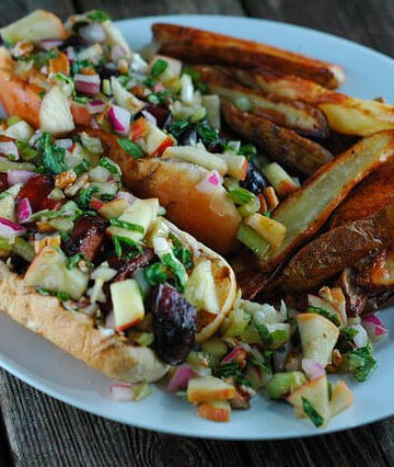 The Best Summer Slaw Dogs