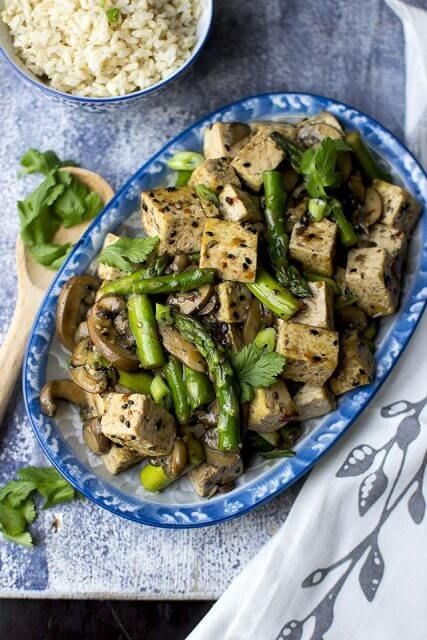 Sesame Tofu Asparagus Stir Fry,Stir up Your Week with These 25 Amazing Stir Fry Recipes