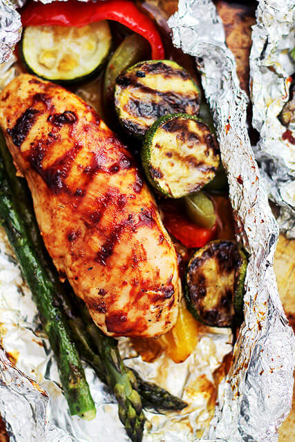 easy chicken recipe for camping