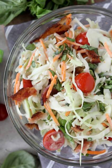 BLT-coleslaw