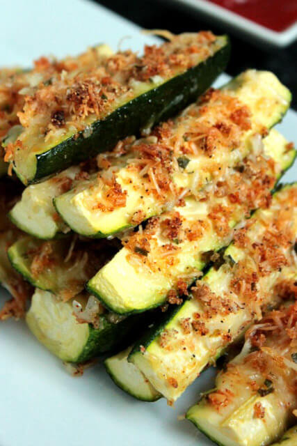 Baked-Garlic-Parmesan-Zucchini