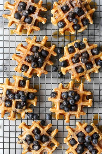 Blueberry-Buttermilk-Waffles