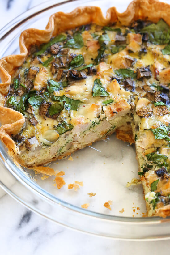 Exquisite quiche recipes the adventure bite chicken quiche forumfinder Gallery