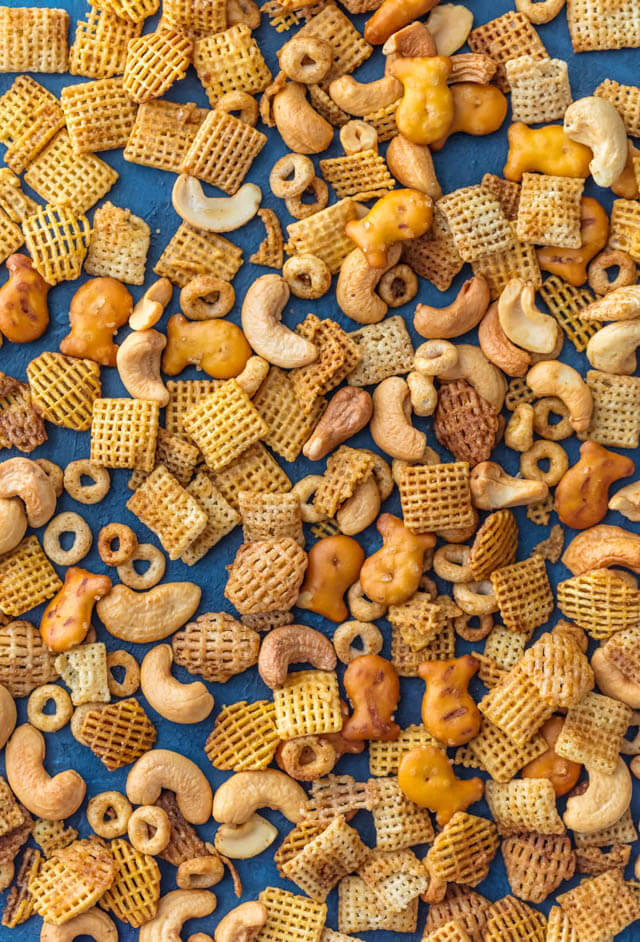 Chex party mix, Christmas party food ideas