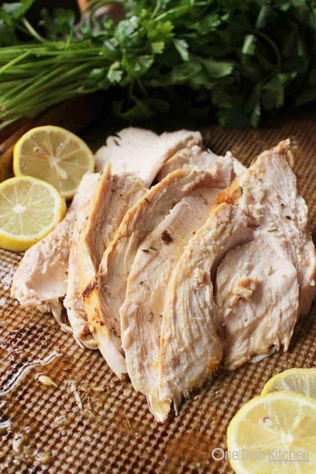 roasted turkey breast recipe, Christmas party food ideas