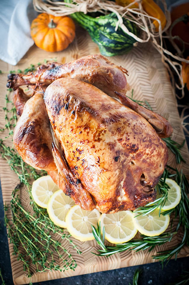 rotisserie thanksgiving turkey, Christmas party food ideas